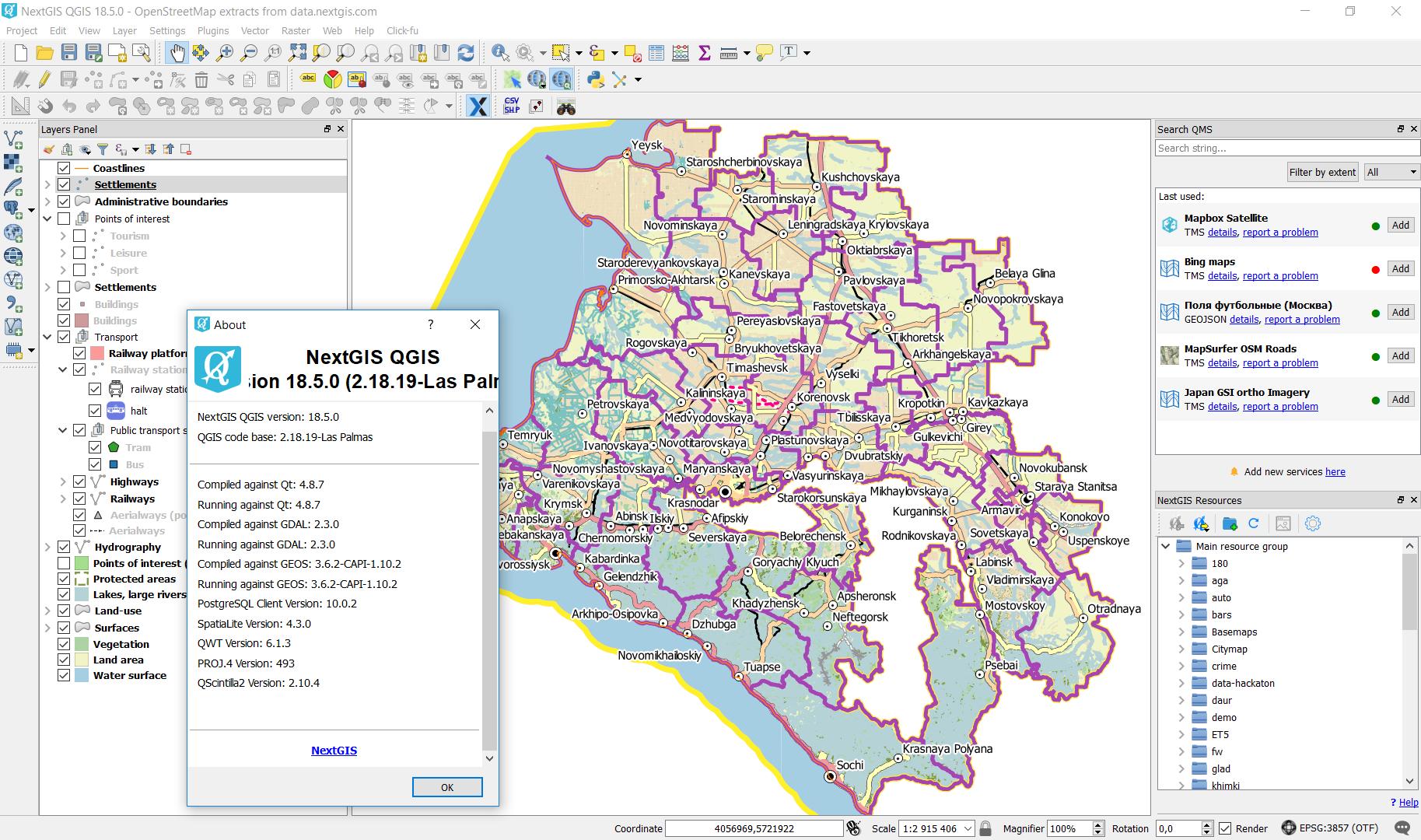 Big update for all NextGIS desktop software | NextGIS